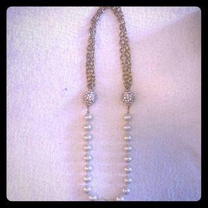 Rachel Zoe faux pearl necklace